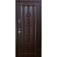 Входные Двери  VIP Турин темный орех
